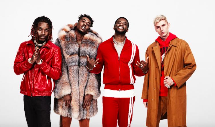 Gucci Mane, MGK, Desiigner & Fetty Wap Take Over Swisher's