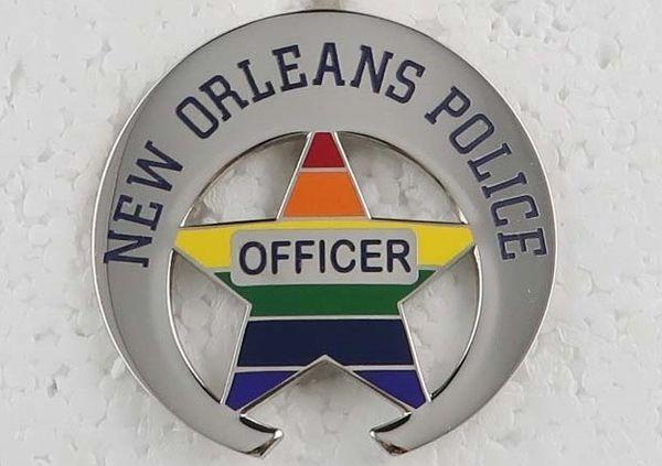 97ef8a0d3 NOPD Gets LGBTQ Rainbow Badges for Pride Month