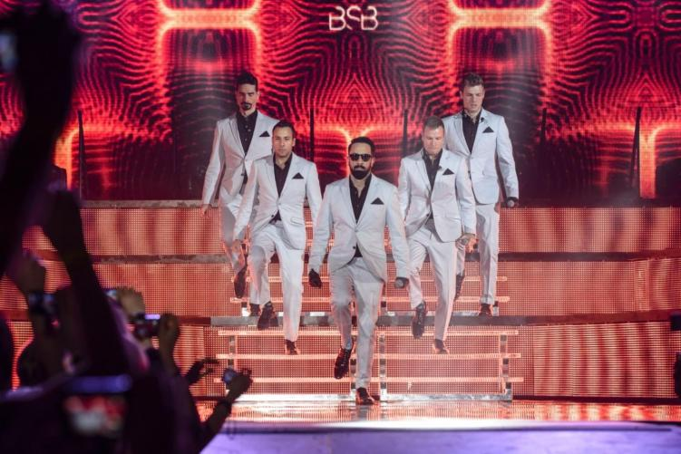 Backstreet Boys Bring All the Throwbacks to Smoothie King Center