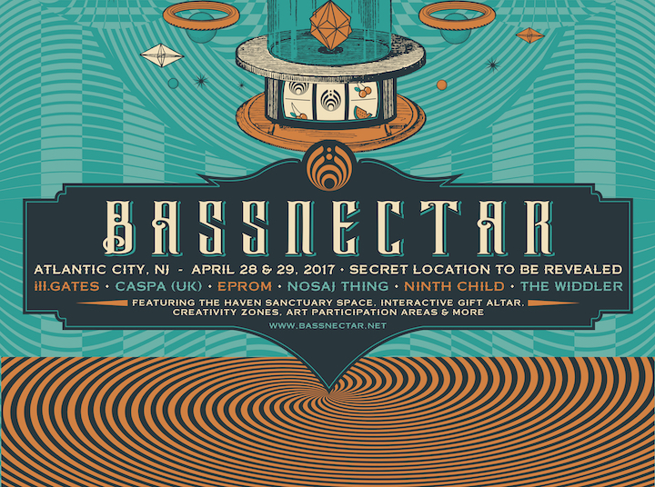 Bassnectar - Atlantic City, NJ