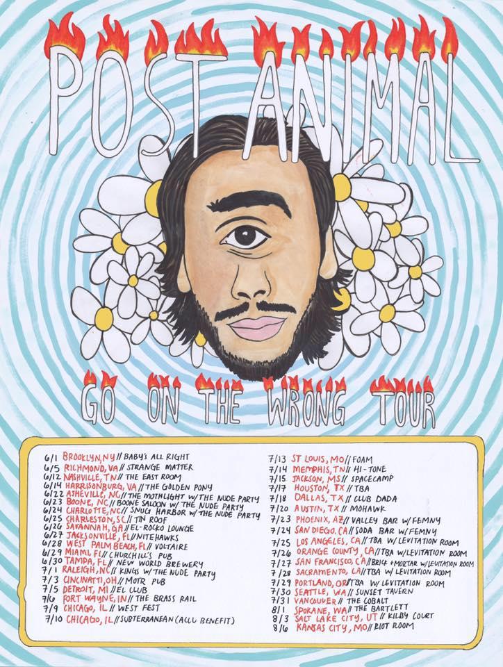 Post Animals Tour