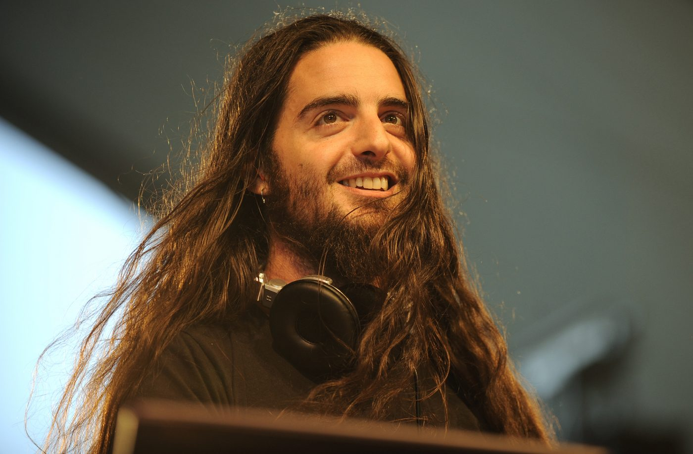 The 42-year old son of father (?) and mother(?) Bassnectar in 2020 photo. Bassnectar earned a million dollar salary - leaving the net worth at million in 2020