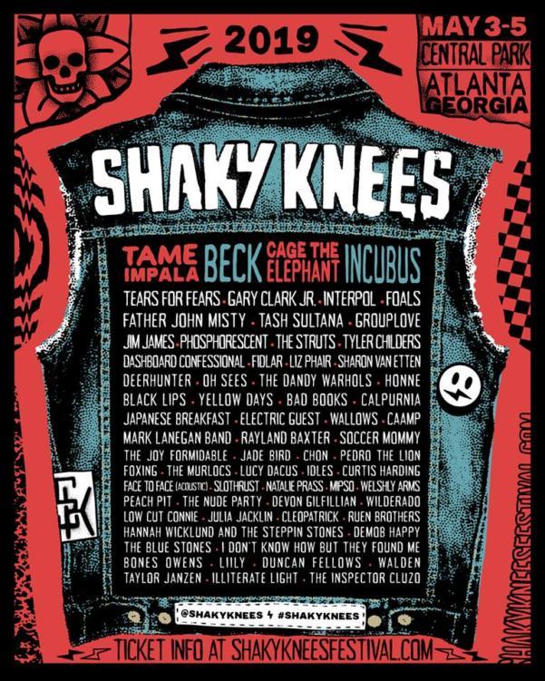 Shaky Knees Full Lineup