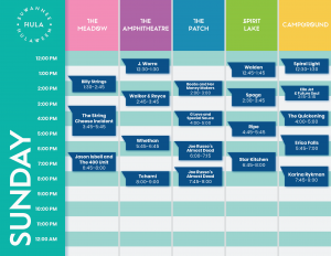 hulaween schedule