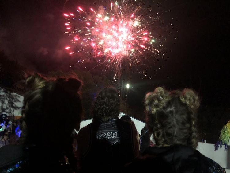 elements festival fireworks